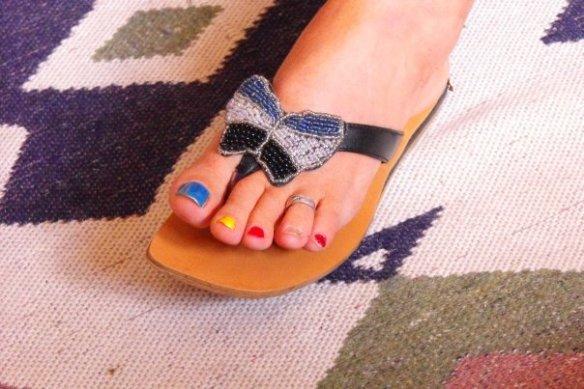 Bye bye Perdy's toes